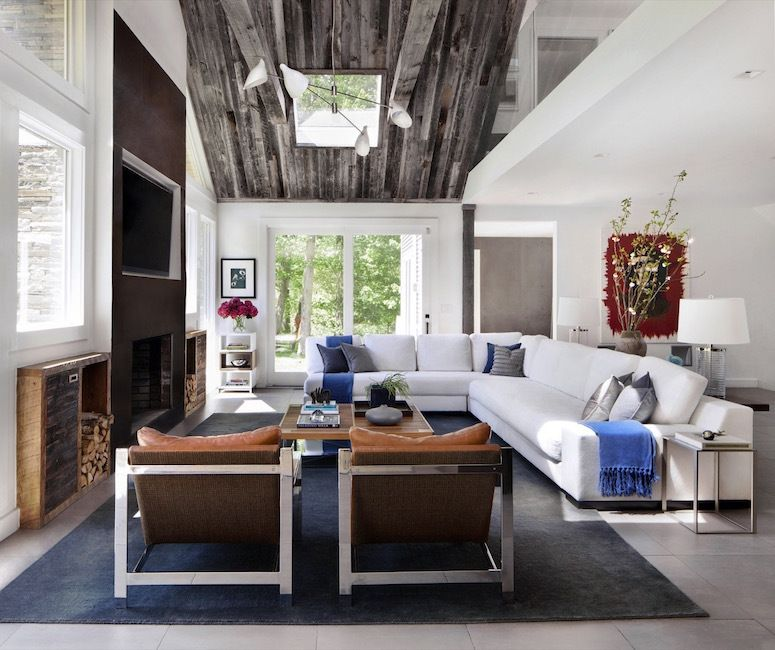 Hohes Wohnzimmer Gestalten How To Make Your Ceilings Look Higher | Huffpost