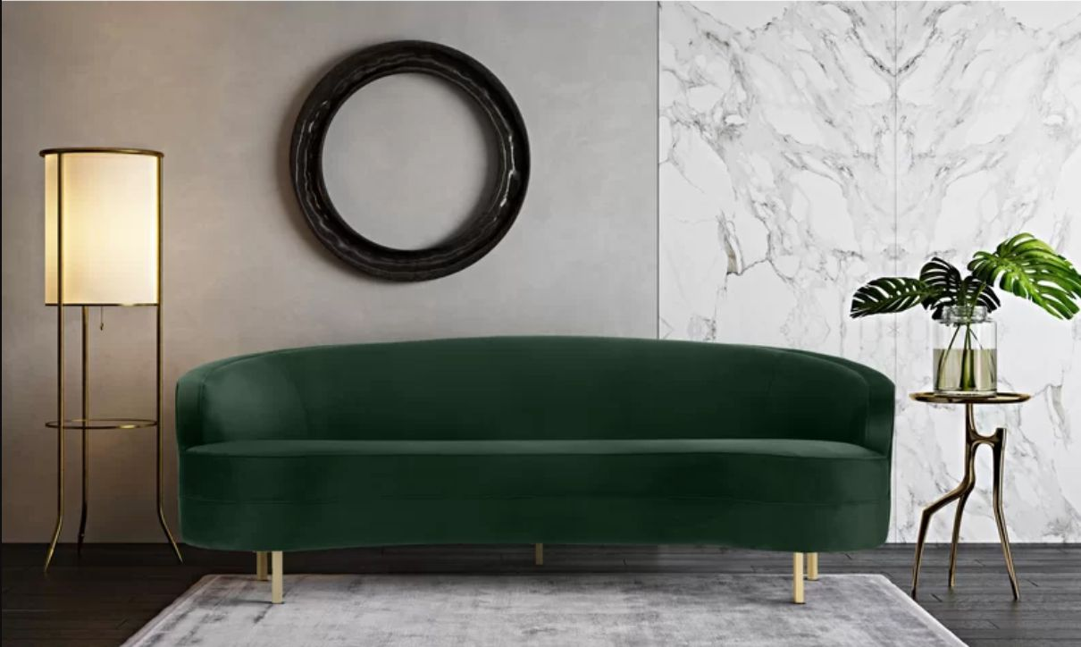 Cheap Scandinavian Furniture Online Where To Buy An Emerald Green Couch On Any Budget Huffpost Life