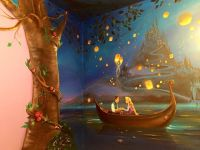 Mom Spends 60 Hours Painting A Mural For Daughter Who ...