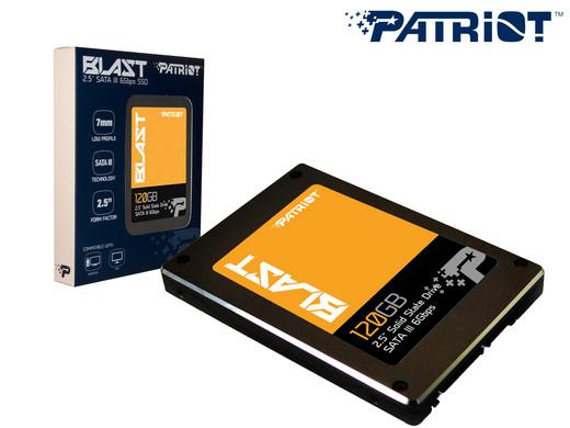 Quick review SSD Patriot Blast 120GB: hiệu năng vượt trên tầm giá - 124093