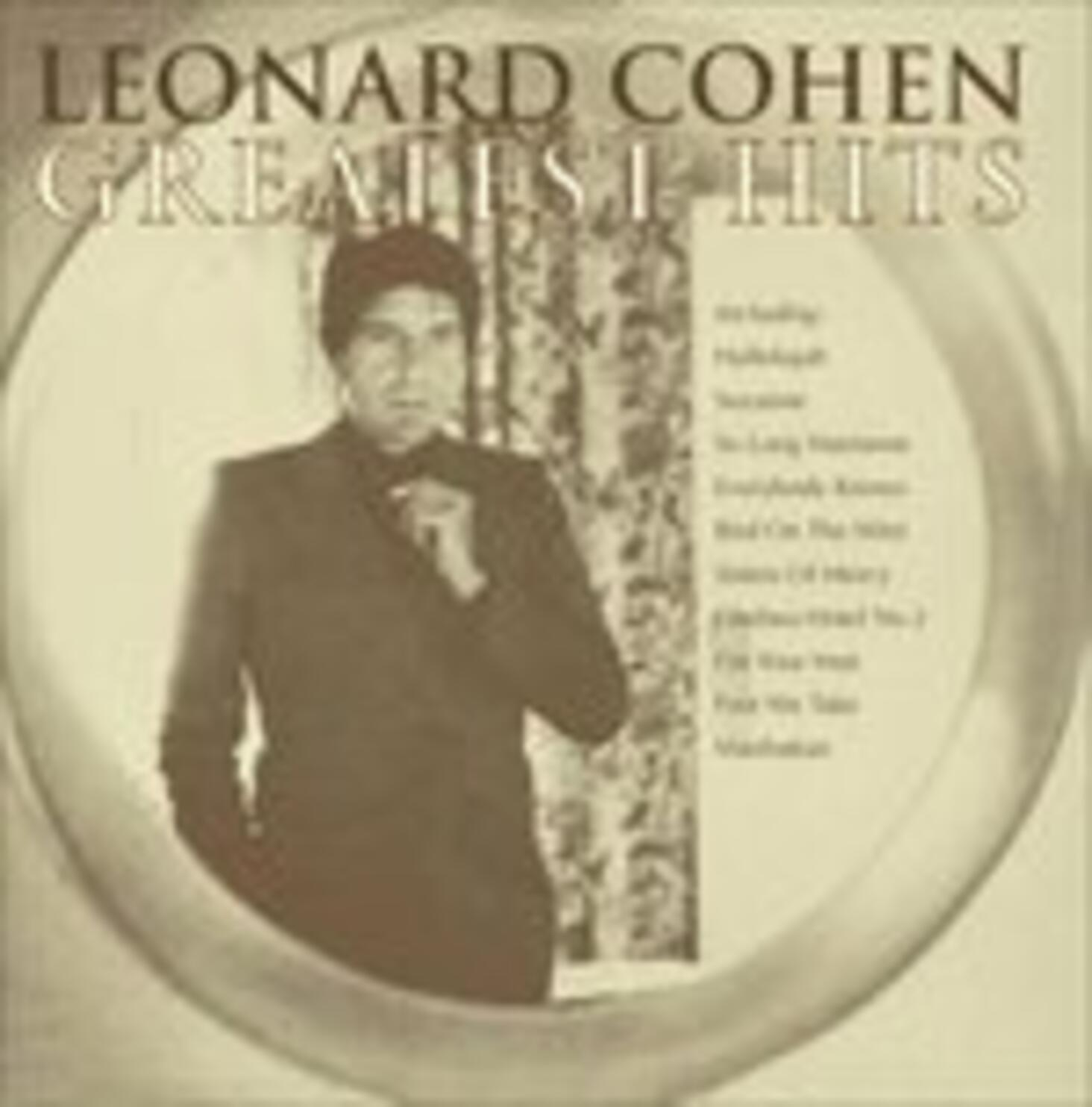 Leonard Cohen Libros Greatest Hits Leonard Cohen Cd Ibs