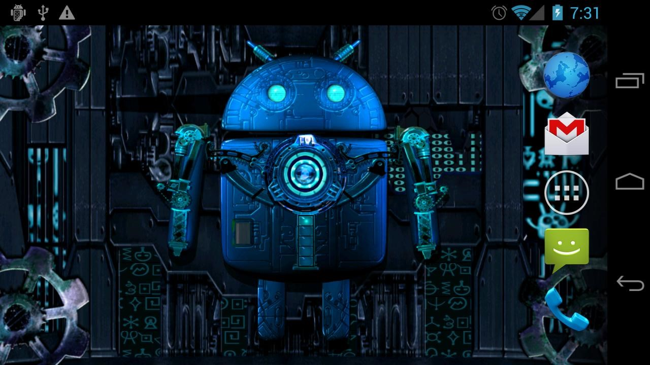 Cool 3d Skull Wallpapers Steampunk Droid Live Wallpaper Download