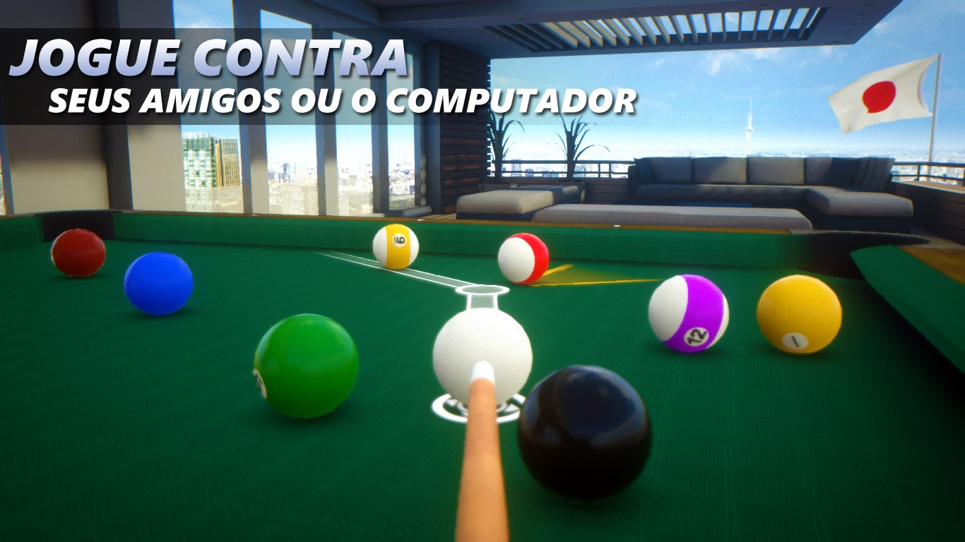Mesa Corrida Sky Cue Club: 8 & 9 Ball Pool + Billiards + Snooker Download