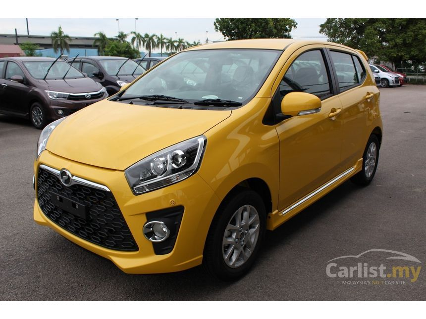 Perodua Axia 2017 SE 1.0 in Perak Automatic Hatchback Yellow for RM 34,900 - 3823673 - Carlist.my