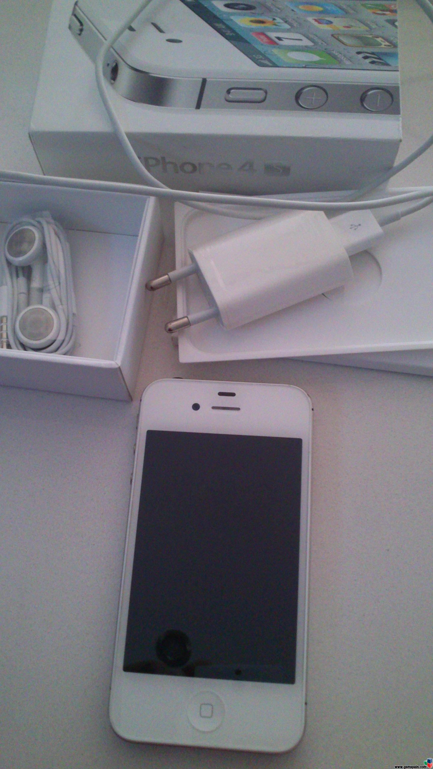 Precio Iphone 4s Libre Iphone 4s 16gb Blanco Libre 360 Fans De Apple
