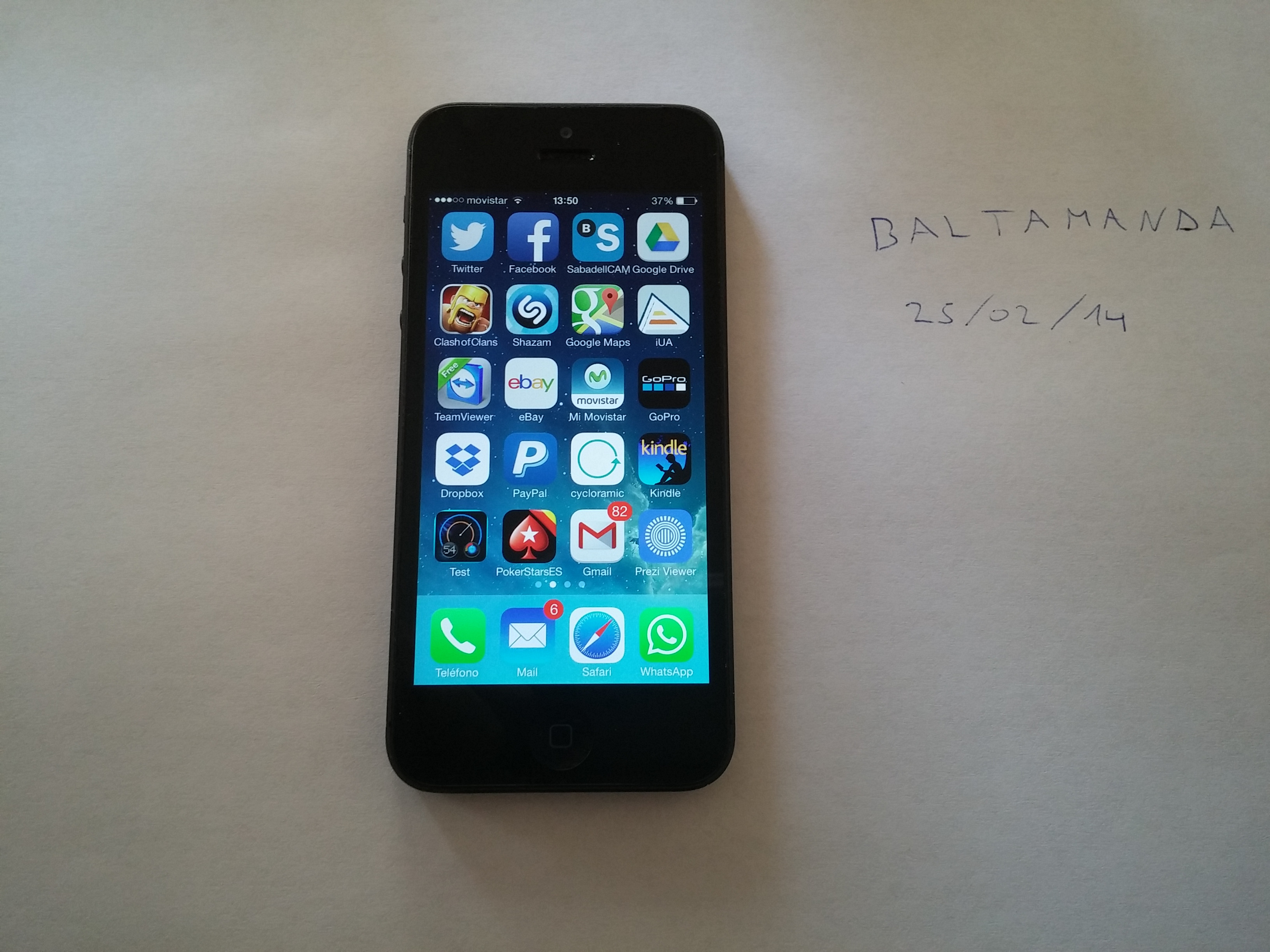 Precio Iphone 5 16gb Libre Vendo Iphone 5 16gb Negro 380 G I