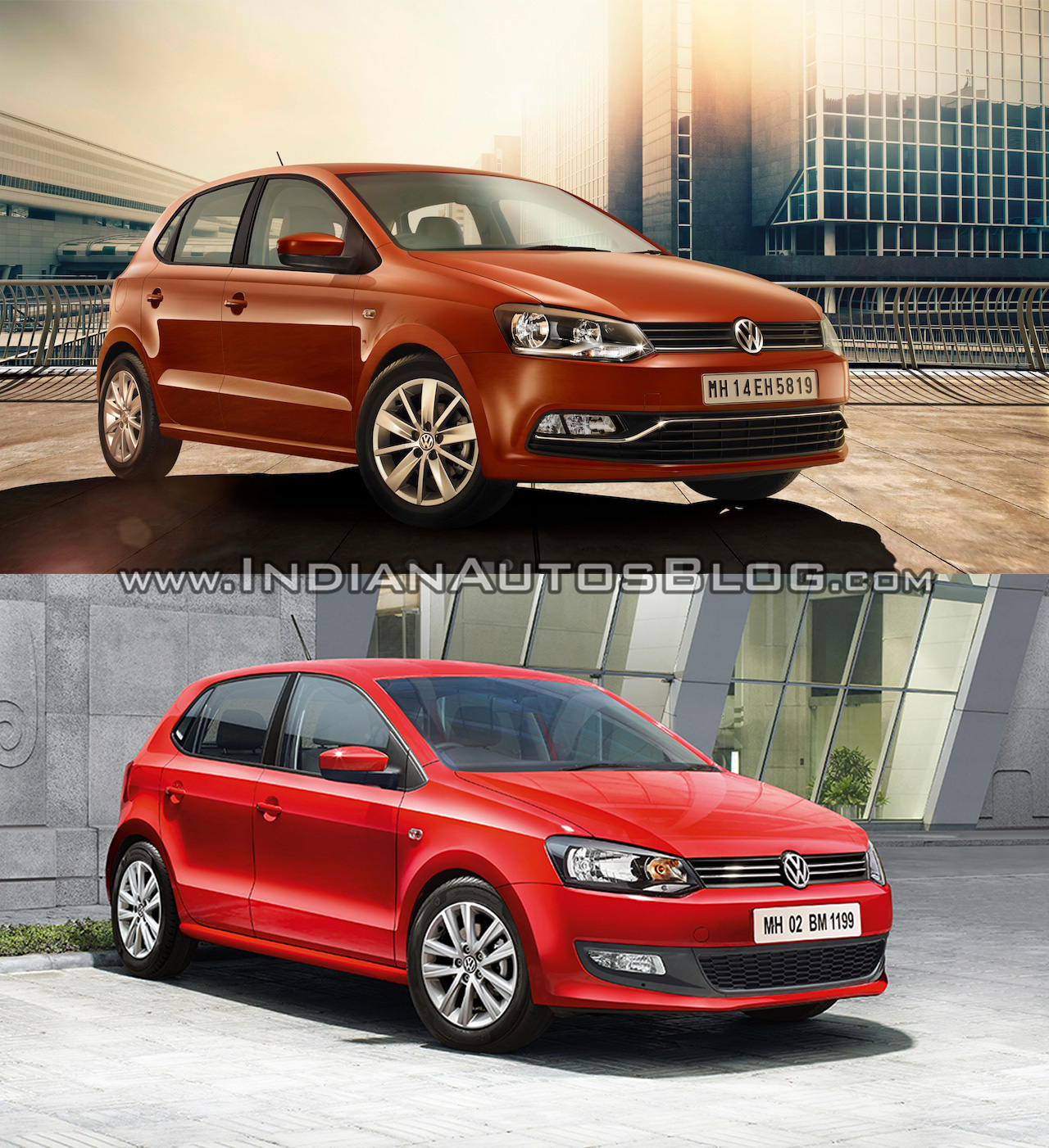 Brand New Vw Polo Old Vs New Vw Polo Facelift Vs Vw Polo Pre Facelift