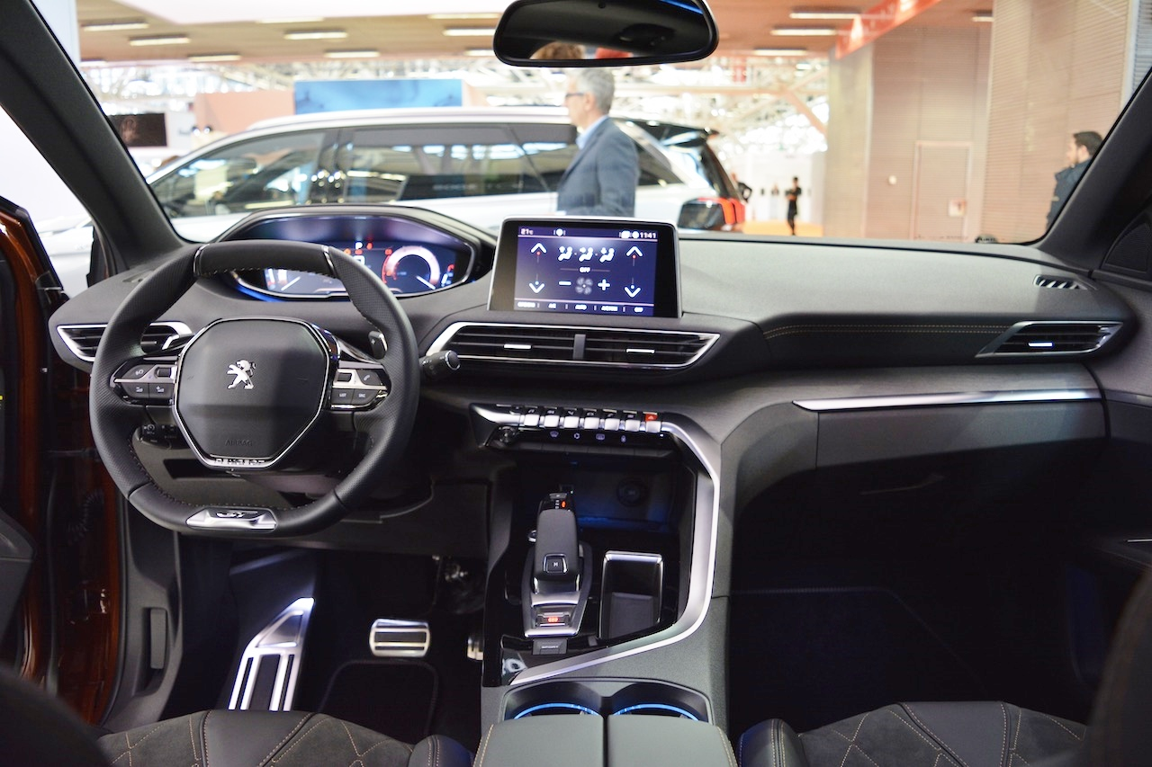 3008 Interieur 2017 Peugeot 3008 Interior Dashboard At 2016 Bologna Motor