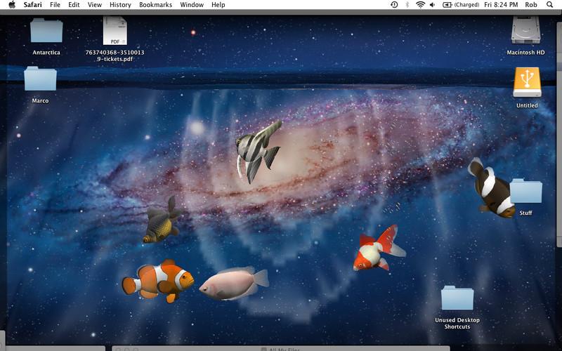 Desktop Aquarium 3d Live Wallpaper On Imac Desktop Aquarium 3d Live Wallpaper Amp Screensaver Mac