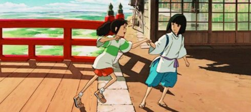 有些人只能陪你走一段路,你必須勇敢離開,尋找下一段精彩 - 宮崎駿的夢想之城