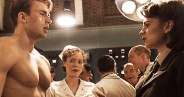 「10個演員NG畫面讓電影變得更加精彩」美國隊長的完美胸肌讓女演員情不自禁做了這件事-我們用電影寫日記