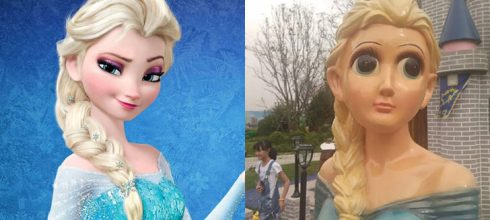 「毀童年!細數大陸山寨動漫娃娃」《冰雪奇緣》Elsa成為孩子的惡夢,柯南、皮卡丘、米老鼠等動畫無一幸免!-動漫的故事