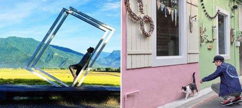 暑假就是要邊玩邊拍!「精選全台10個超好拍景點」宜蘭這個超美的天然背景板狂洗版IG!