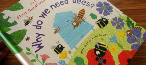 [小小孩科學書單] 深具教育意義。硬頁百科翻翻書| Why do we need bees?