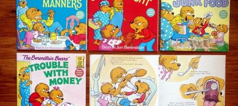 美國小學指定閱讀The Berenstain Bears|孩子的生活經驗繪本