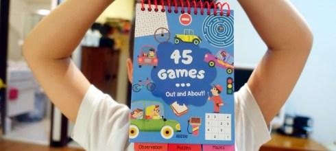 外出也方便的感統遊戲書|45 Games Out and About|觀察力、專注力、組織計劃