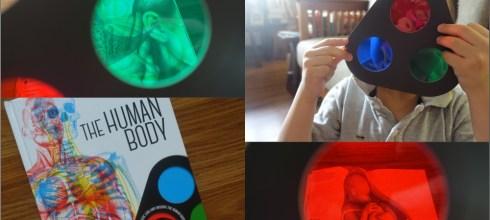 [幼兒STEAM科學書單] 好玩的三色鏡魔法書|Lens Book The Human Body與Lens Book Animals