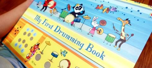 [親子] 實用又好玩的打鼓音效書|My First Drumming Book