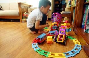 [揪團] GINIMAG城市火車磁性建構片|3個玩積木的方法(經驗分享)