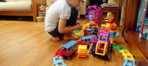 3個玩積木的方法(經驗分享)|GINIMAG城市火車磁性建構片