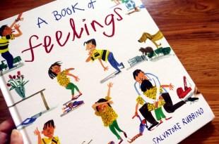 [小小孩的情控書單] 情緒控制從認識感覺開始|A Book of Feelings