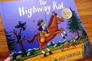 反派故事,The Highway Rat惡名昭彰的公路大鼠|英國BBC卡通的繪本