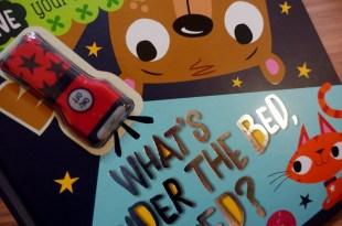 自己睡和怕黑小人書單 What's Under The Bed, Ted好玩的真相手電筒