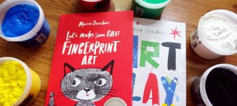 錯過會扼腕,大藝術家美術畫冊 Let's Make Some Great Fingerprint Art及Art Play