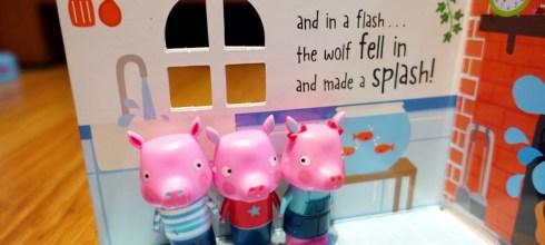 帶著走! 三隻小豬立體玩具硬頁書盒|Playhouse: The Three Little Pigs