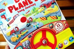 精彩音效書大集合|飛機駕駛玩具書Big Plane's Long Journey|還有My First Drum Set