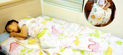 用了一年才決定分享|韓國手工純綿WOW兒童四季睡袋,幼稚園用到國小沒問題