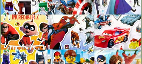 美國DK超過1000張貼紙 迪士尼vs漫威 蝙蝠俠,蜘蛛人,超人特攻隊,閃電麥坤,冰雪奇緣,樂高