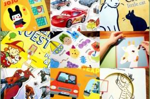 [導讀]7月書單:硬頁書,Brain Quest大腦益智書單,貼紙書,橋樑書,有聲CD書,繪本,迪士尼漫威