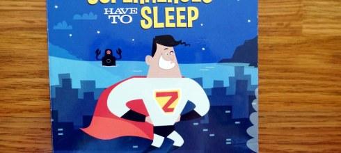 這本媽媽很需要 |壞掉的唱片機理論,Even Superheroes Have to Sleep