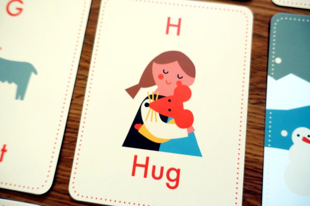 可愛小老鼠字母52張閃卡 Little Mouse's Alphabet Flash Cards 字母遊戲和故事接龍 - 愛小宜的甜蜜小窩