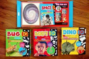愈玩愈有趣|Smart Kids IQ Box Sets|小動腦IQ自然百科遊戲盒(太陽系與恐龍篇)