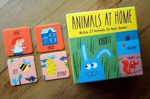 2歲以上適合 同時有3種玩法:兼具創意與實用的Animals at Home遊戲盒