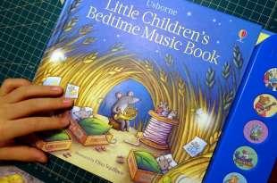 小孩乖乖睡 Little Children's Bedtime Music Book  輕輕柔柔-搖籃曲音效書