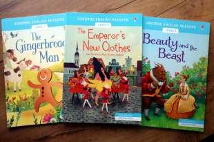 地表最強的雙發音童話讀本 Usborne English Readers:國王的新衣,薑餅人,美女與野獸