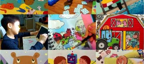 [揪團]3月書團:神奇水畫冊,雙發音童話故事,STEAM繪本,硬頁書,貼紙遊戲書,西班牙akros桌遊教具