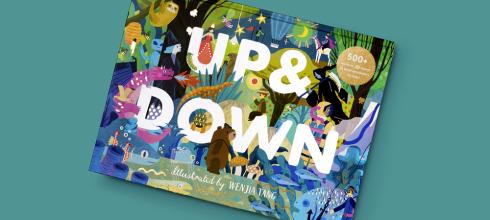 二個世界,完全點燃孩子好奇心的找找書 Up & Down 還有Rainforest: Day & Night夜光書