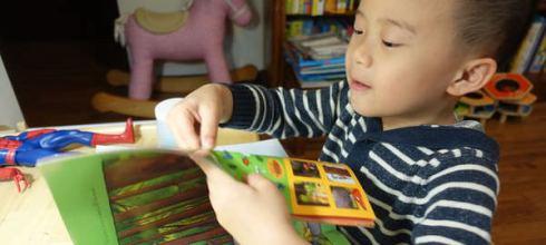 英國超紅古肥玀●The Gruffalo Sticker Book●用來打發小孩時間的貼紙遊戲書