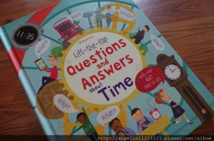 孩子的時間翻翻書●Usborne Lift-the-Flap Questions and Answers About Time●