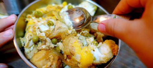 [食譜筆記] 簡易自調醬汁,適合小小孩的●雞肉親子丼●快速料理