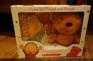 [同大爺書報]經典的●I Love You Through and Through禮物書●充滿愛, 也只有愛