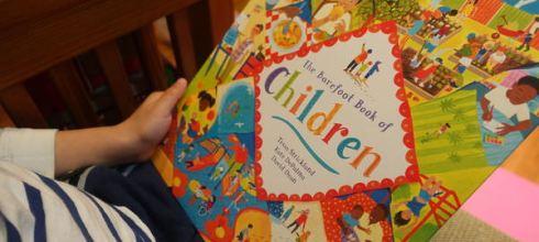 聯合國兒童基金會總裁推薦●The Barefoot Book of Children●給關心幼兒教育父母