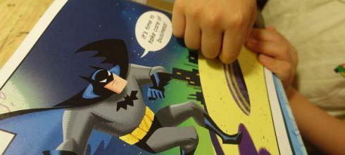 同大爺期待到嫑嫑的另類晚安書●Bedtime for Batman● 美國DC漫畫繪本版