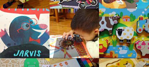 [導讀]4月書單●童書,貼紙書,印章書,繪本,英國BigjigsToys拼圖及手提娃娃屋 ●