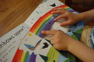 [0-3歲硬頁書] 適合為什麼期小人●What makes it rain?●自然與天氣的翻翻書