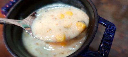 [食譜] 一試就成功●玉米濃湯● 原來並不難, 小小孩好愛
